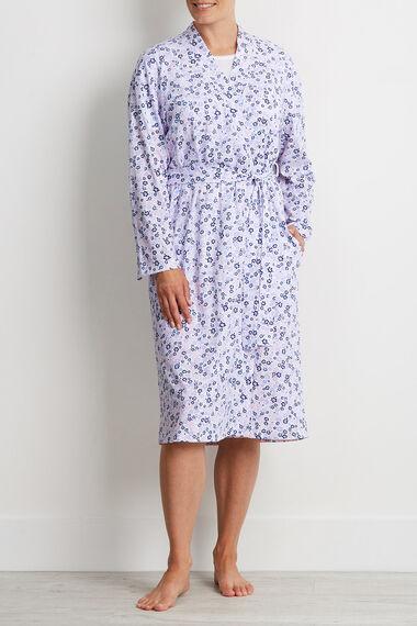 Floral Jersey Robe - Mix & Match