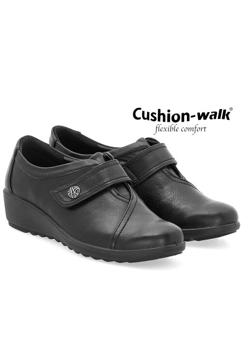 Cushion Walk Touch Fasten Shoe