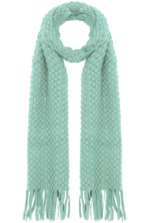 Supper Soft Bobble Scarf
