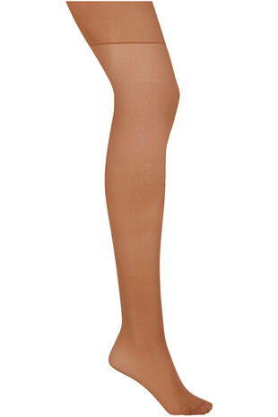 3 Pack 15 Denier Tights With Lycra