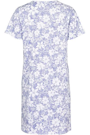 Cornflower Print Nightdress