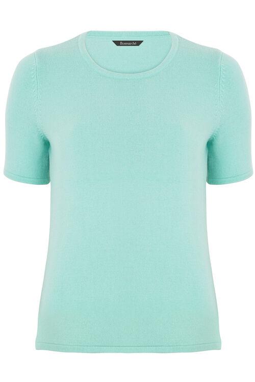 Super Soft Short Sleeve Sweater
