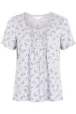 Butterfly Grey Marl Pyjama