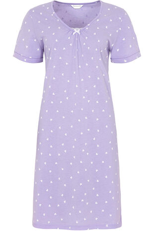 Heart Lace Nightshirt
