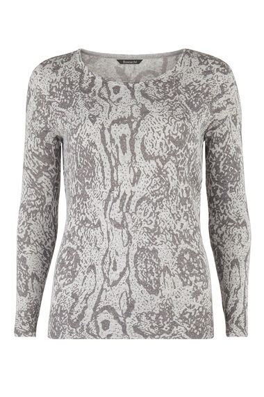 Supersoft Reptile Print Jumper