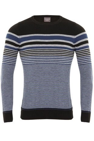 Cash Crew Neck Stripe