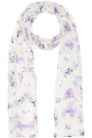 Mini All Over Floral Scarf