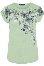 Trailing Floral Print T-Shirt