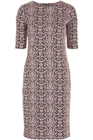 Jacquard Textured Dress