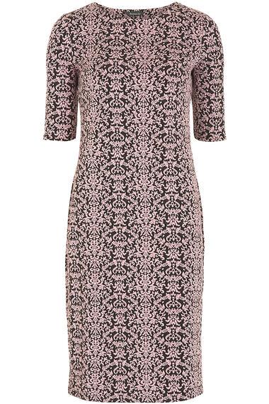 Jacquard Textured Dress