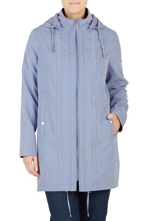 Unpadded Hooded Coat