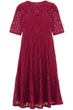 Patchwork Lace Dress