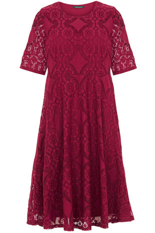 Patchwork Lace Dress