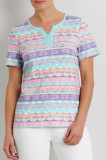 Aztec Stripe T-Shirt
