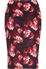 Floral Stretch Skirt