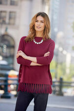 Tassel Side Button Tunic