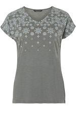 Geometric Print T-Shirt