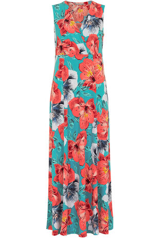 Ann Harvey Tropical Floral Maxi