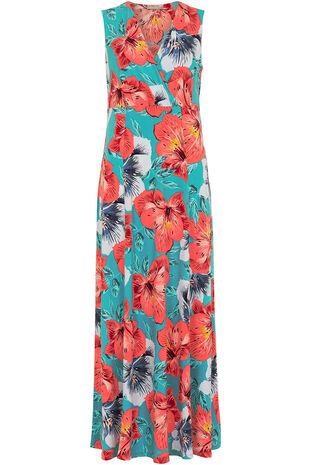Ann Harvey Tropical Floral Maxi