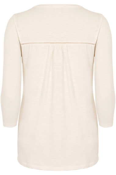 Embroidered Cotton Jersey Top