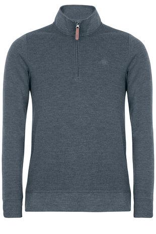 Overhead Zip Sweater