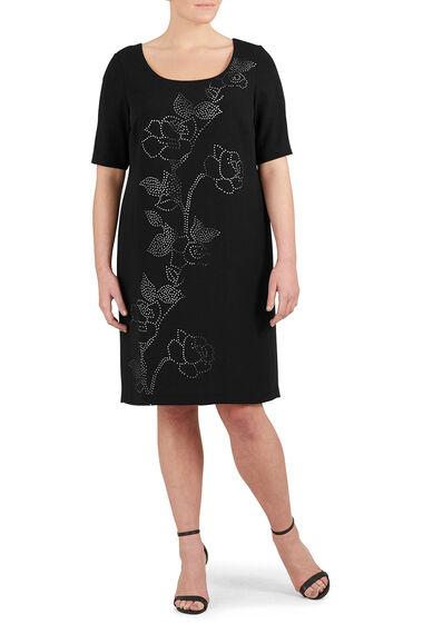 Ann Harvey Laser Cut Dress
