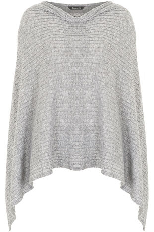All Over Cable Poncho