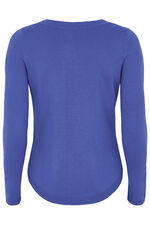 Textured Yoke Jumper