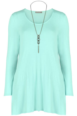 Ann Harvey Pocket Necklace Top