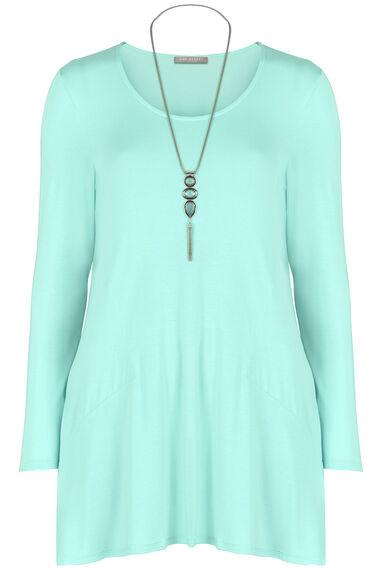 Ann Harvey Pocket Necklace Top