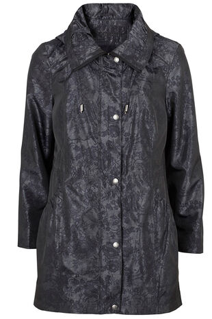 Lace Printed Parka