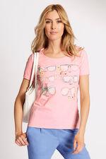 Sunglasses Placement Print T-Shirt