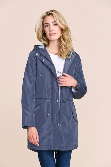 Jersey Lined Parka Coat