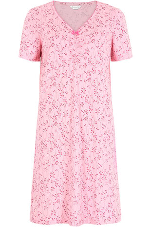 Linear Berry Print Nightshirt