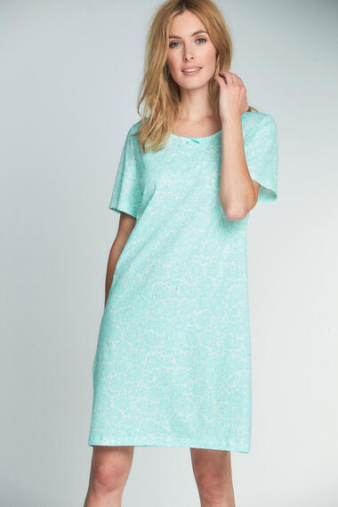 Green Minileaf Nightshirt