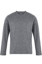 Charcoal Long Sleeve Pj Set