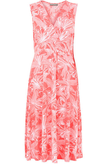 Ann Harvey Printed Fit and Flare Dress
