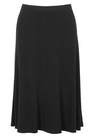 Panelled Jersey Skirt