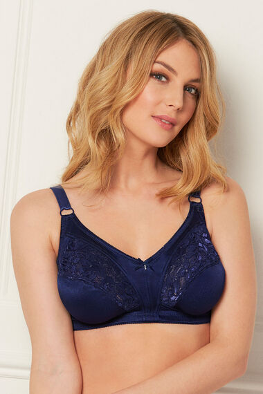 Two Pack Lace Trim Bras