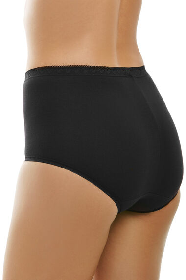 Pack Of 3 Stretch Maxi Briefs