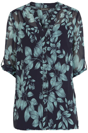 Ann Harvey Floral Print Blouse