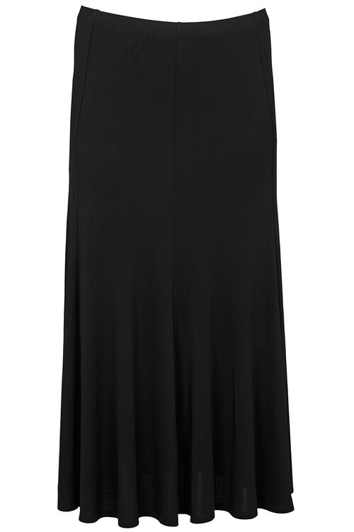 Ann Harvey Heavy Jersey Crepe Maxi Skirt