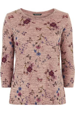 Butterfly Floral T-Shirt