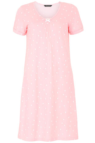 Heart Print Nightshirt