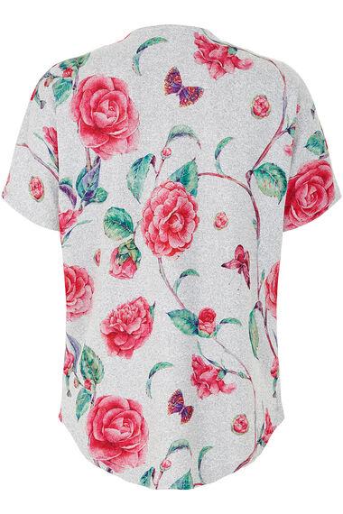 Stella Morgan Soft Touch Printed Zip Sweater