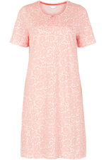 Peach Minileaf Nightshirt