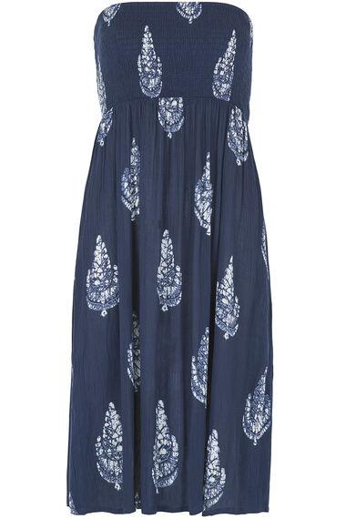 Lightweight Printed Beach Dress