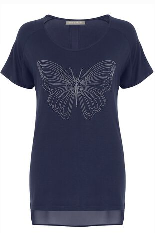 Ann Harvey Butterfly Detail Top
