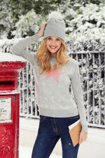 Fair Isle Star Jumper