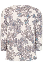 Floral and Paisley Print Jumper